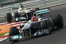 Formel 1 - Michael ist kein Mistkerl: Keine Eiszeit zwischen Rosberg & Schumacher