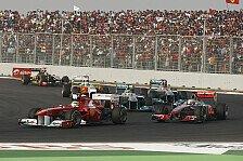 Formel 1 - Gro�e Verdienste f�r die Formel 1: Auszeichnungen f�r BBC und JPSI