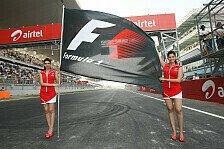 Formel 1 - Bilder: Indien GP - Girls
