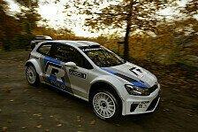 WRC - F�r ein Rallyeauto der neuen Generation gut: Sainz: Beeindruckt von Test im VW-Polo-R