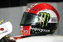 MotoGP - 14 Vespas für Simoncelli von Italien nach UK