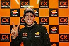 Moto2 - Der erste gro�e Schritt: Marquez sieht sich bereit f�r den Jerez-Test