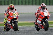 MotoGP - Das Motorrad der Zukunft: Ducati best�tigt Alu-Rahmen f�r Valencia-Test