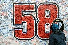 MotoGP - Erinnerung an den beliebten Piloten: Unterst�tzung f�r die Marco Simoncelli Stiftung