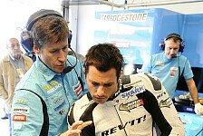 MotoGP - Gepriesen sei das Gaffaband: De Puniet schl�gt sich achtbar mit Suzuki
