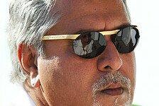 Formel 1 - Keine �berraschungen in Bahrain: Vijay Mallya: H�lkenberg liefert immer ab