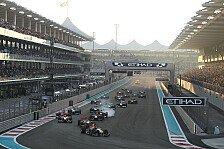Formel 1 - Balance & Bremsen: Reifen: Vielseitigkeitstest in Abu Dhabi