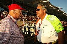 Formel 1 - Ungedeckte Schecks ausgestellt?: Haftbefehl gegen Mallya