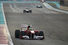 Formel 1 - Schwierig zum �berholen: Massa f�r Strecken�nderung in Abu Dhabi