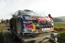 WRC - Bilder: Bilder des Jahres 2011: Unf�lle