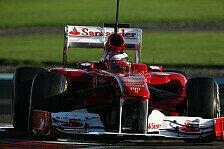 Formel 1 - Probleme mit dem Frontfl�gel verstehen: Bianchi: Test f�r Ferrari sehr wichtig