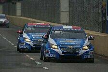 WTCC - Chevrolet am schwersten: FIA gibt Fahrzeuggewichte bekannt