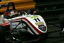 F3 Euro Series - Keinen Einfluss auf die Zukunft: Merhi: Macau-Desaster schnell vergessen