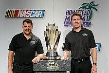 NASCAR - Titelkandidat Tony Stewart startet von Rang 15 : Carl Edwards steht im Sprint-Cup-Finale auf Pole
