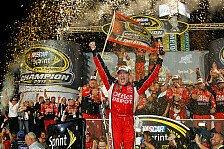 NASCAR - Stewart und Edwards beenden die Meisterschaft punktgleich: Tony Stewart gewinnt und ist neuer Champion