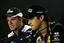 Formel 1 - Bruno rief an und war beinahe aufgel�st: Williams-Entscheidung f�r Barrichello Geldsache