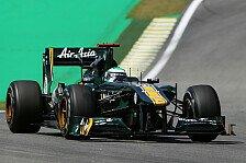 Formel 1 - Wochenende k�nnte gut f�r uns laufen: Lotus: Neuer Heckfl�gel ein Fortschritt