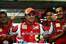 Formel 1 - Formanstieg oder Ferrari-Abschied?: Pro & Contra: Felipe Massa