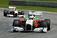 Formel 1 - Neues Auto kurz vor Fertigstellung: Vorfreude bei Force India auf neues Auto