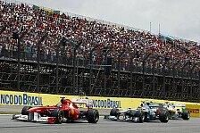 Formel 1 - Ver�nderungen gefordert: Ecclestone will Sao Paulo halten
