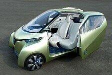 Auto - Der Stadt-Freund der Zukunft : Realistische Studie: Nissan PIVO3