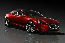 Auto - Mazda stellt neue Design-Philosophie vor : Mazda Konzeptfahrzeug TAKERI feiert Weltpremiere