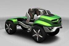 Auto - Ungew�hnliche Auszeichnung zum 60-j�hrigen Jubil�um : Designpreis f�r Mercedes-Benz Unimog-Studie
