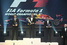 Formel 1 - Letzte Troph�e 2011: Vettel offiziell geehrt