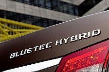 Auto - Sparsamstes Oberklasse-Modell der Welt : Start der Hybrid-Offensive von Mercedes-Benz