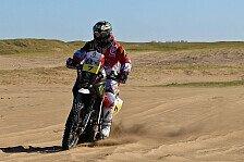 Dakar - Das h�rteste, was unter die R�der kommt: Bikes - Husqvarna: Durch Steinh�lle zum Podium