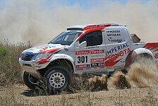 Dakar - Auf den Spuren des Dakar-Siegs 2009: Zitzewitz weiter auf Dakar-Rang vier