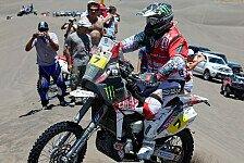 Dakar - Goncalves fiel in Querrinne: Bikes - Dritter Podestplatz f�r Husqvarna