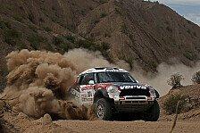 Dakar - Nasser Al-Attiyah hatte erneut Probleme : Holowczyc holt den vierten Tagessieg f�r X-Raid