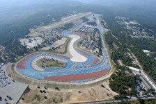 Formel 1 - Von den H�geln Le Castellets: Frankreich-GP: Platz f�r Zuschauer schaffen