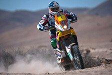 Dakar - Despres bleibt stecken: Bikes - Coma nach Ruhetag auf dem Vormarsch