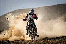 Dakar - Zeitstrafe f�r die Schnellsten: Bikes - Rodrigues gewinnt 9. Etappe