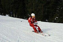 Formel 1 - Die Gefahr f�hrt immer mit: Ski-Unf�lle: Viele prominente Opfer