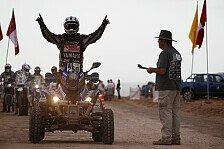 Dakar - Alejandro vor Marcos: Quad � Geschwister Patronelli mit Doppelsieg