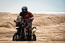 Dakar - Comas gro�e Irrfahrt: Bikes -Rodrigues gewinnt, Despres Spitzenreiter