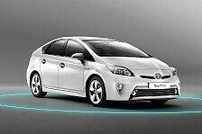 Auto - Spitzenergebnis und erster mit f�nf Sternen: Prius ist Bester im ADAC-EcoTest