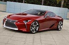 Auto - Dynamischer Look, faszinierende Details und viel Glas : Lexus LF-LC Concept Car
