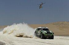 Dakar Rallye - X-raid mit sieben Rennfahrzeugen