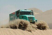 Dakar - Zwei Iveco-Teams auf dem Podium : Gerard de Rooy ist der neue Truck-K�nig