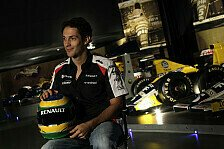 Formel 1 - Bilder: Bruno Senna in der Williams-Fabrik