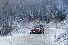 WRC - Regen, Nebel, Eis, Schnee, schwerer Schnee: Monte Carlo: Mini mit guter Reifenwahl