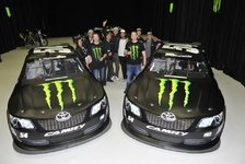 NASCAR - Ein Monster-Team: Busch-Br�der starten 2012 zusammen f�r KBM