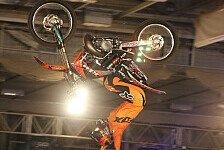 NIGHT of the JUMPs - Remi Bizouard setzt seinen Triumphzug fort: Die Freestyle MX WM rockt Berlin