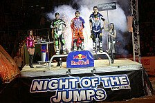 NIGHT of the JUMPs - Neue Saison mit einigen �nderungen: Die Freestyle Motocross WM live