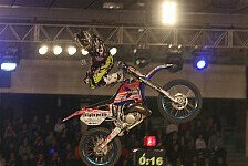 NIGHT of the JUMPs - Extremflugk�nstler aus sieben Nationen in Turin: Auftakt der Freestyle MX Weltmeisterschaft