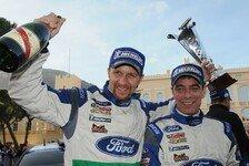 WRC - Die Top-8 der Rallye Monte Carlo